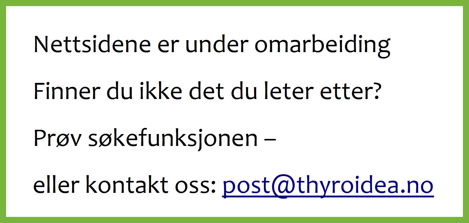 Thyroidea Norge
